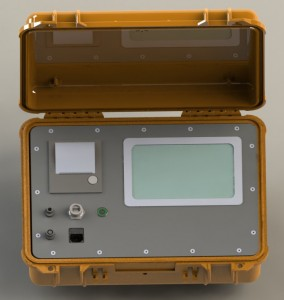 Maletín equipo electrónico
